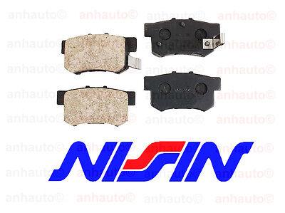 Nissin Rear 2-wheel Brake Pad for Civic Coupe Sedan Acura Integra Honda