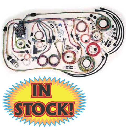 s l500 american autowire 500481 truck wiring harness for 55 59 chevy ebay 55-59 chevy truck wiring harness at edmiracle.co