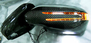 Mercedes R171 SLK-Class 09-ON SILVER Arrow Type LED Side Mirror Cover
