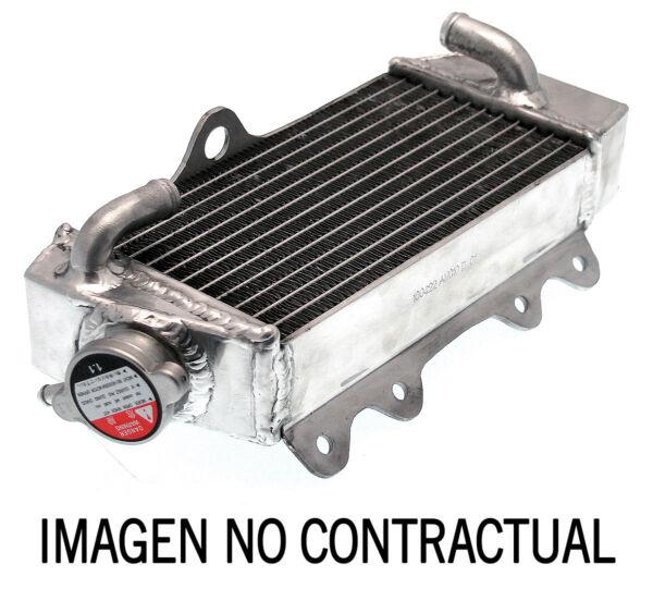 45677 Radiatore Sinistro Saldato Gas Gas 125 Ec 00-06