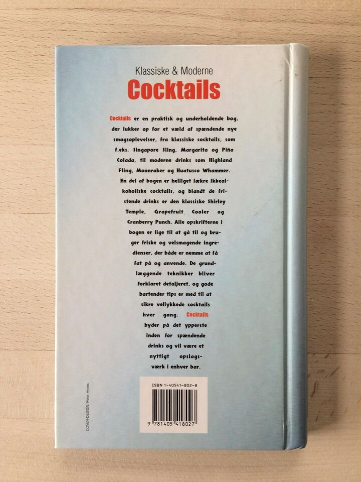 Klassiske og moderne Cocktails, Linda Doeser, emne: mad og
