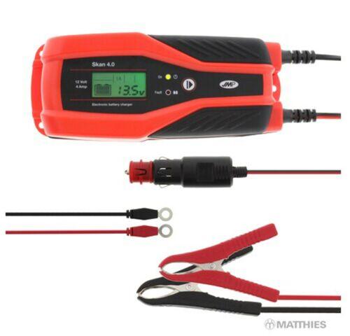 Batterieladegerät Erhaltungsgerät  JMP Skan 4.0 12 V CAN Bus Motorrad BMW usw