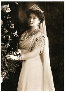 Emperor Nicholas II Empress Alexandra Masquerade Russia Romanov Royalty Postcard