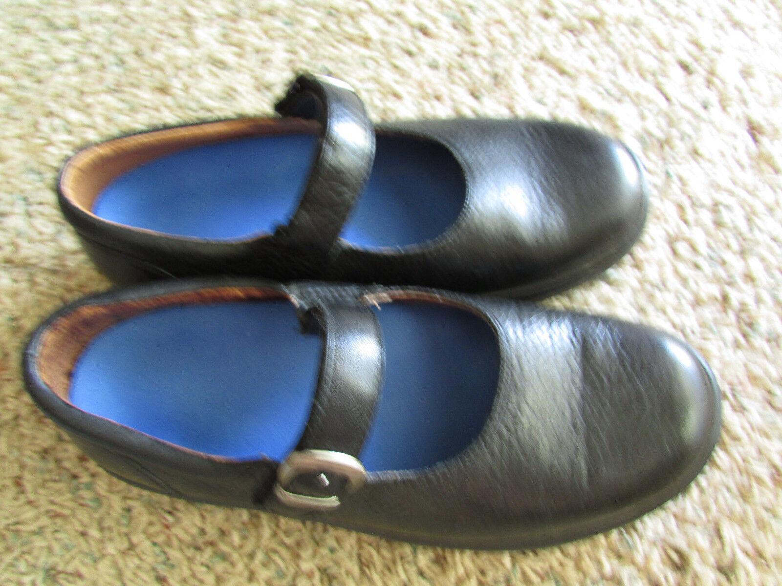 DR. COMFORT MERRY JANE BLACK Schuhe Damenschuhe 7.5W WIDE ORTHODIC  DIABETIC Schuhe