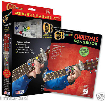 Chord Buddy Guitar Learning System Christmas Edition Book Play Today ...