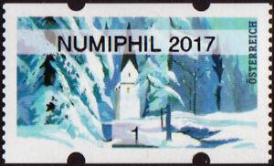 à Condition De Autriche: Hiver Noël 2017 | église | 1 Cents | Numiphil 2017-afficher Le Titre D'origine