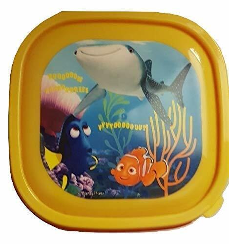 Boys Girls Dory yellow Lunch Box School Nursery Snack Box Fruit Rasins