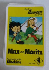Max und Moritz Quartett von Berliner Quartett - 32 Blatt