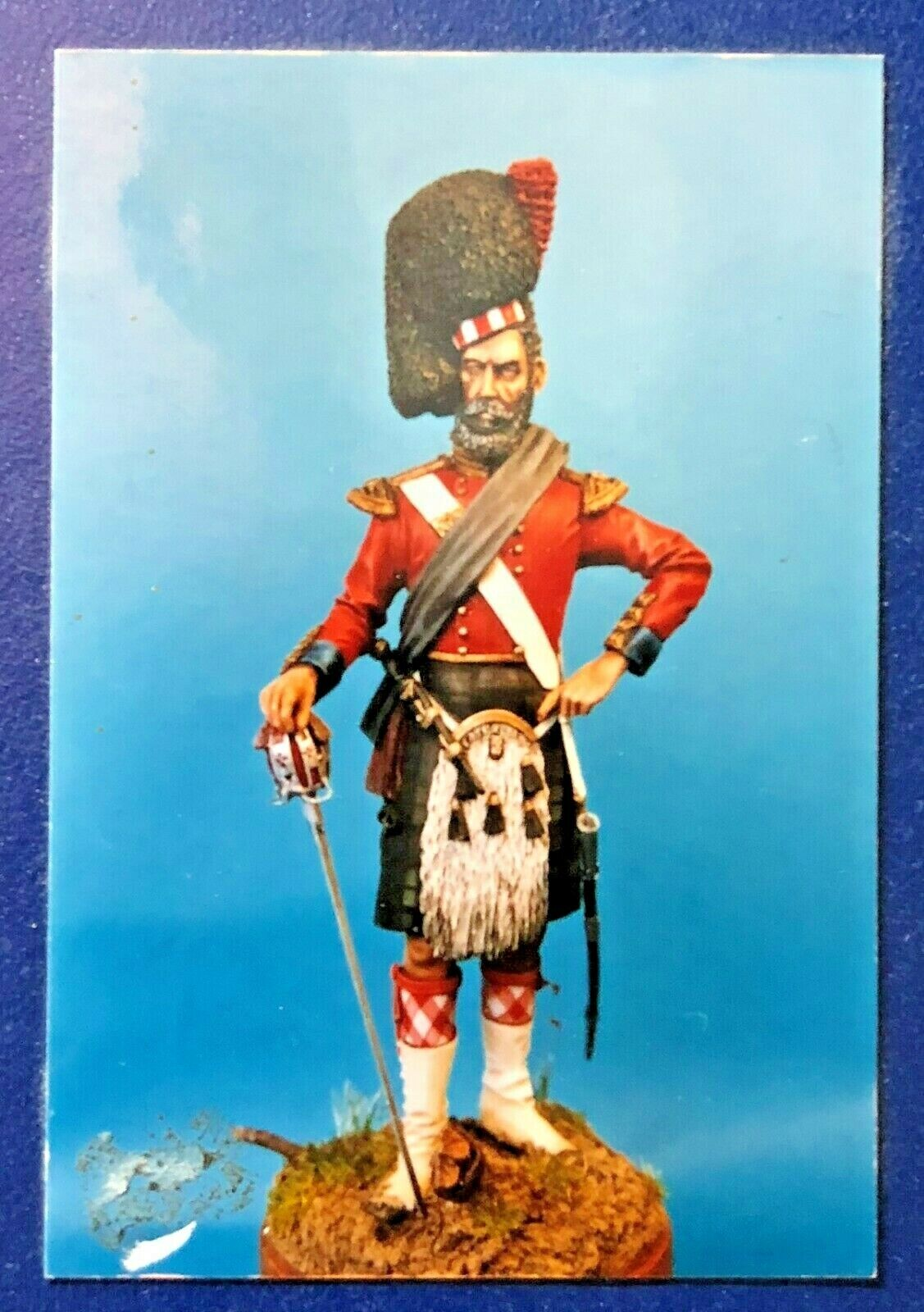 1 16 120MM RESIN FIGURE THE ROLL CALL OFFICER nero WATCH CRIMEA 1854. NEW.