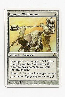 MTG 4X ** LOXODON WARHAMMER ** X4 Magic 9th