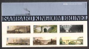 2006-ISAMBARD-KINGDOM-BRUNEL-SET-OF-6-IN-PRESENTATION-PACK-NO381