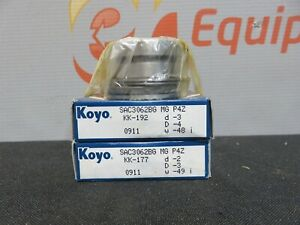 Koyo-SAC3062BG-Precision-Ball-Bearing-Bearings-Lot-of-2-KK-192-0911-New