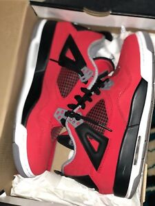 huge discount f607f 38496 Image is loading AIR-JORDAN-4-RETRO-GS-034-TORO-BRAVO-