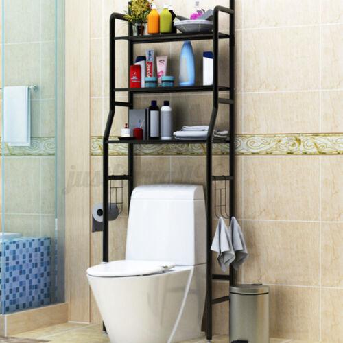 3 Tier Over Toilet Shelf Rack Bathroom Space Saver Towel Storage Organize