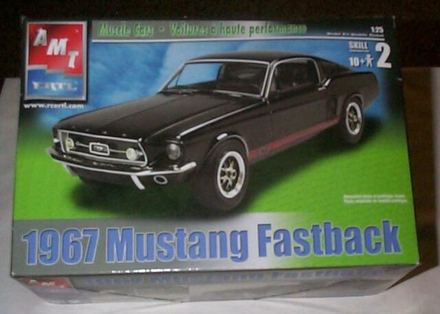 Amt 1967 Mustang Fastback Model Kit Unbuilt Factory 31550 For Sale Online Ebay