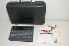 Genuine Brother P Touch Label Maker Model Pt 20 No Pwr Adapter