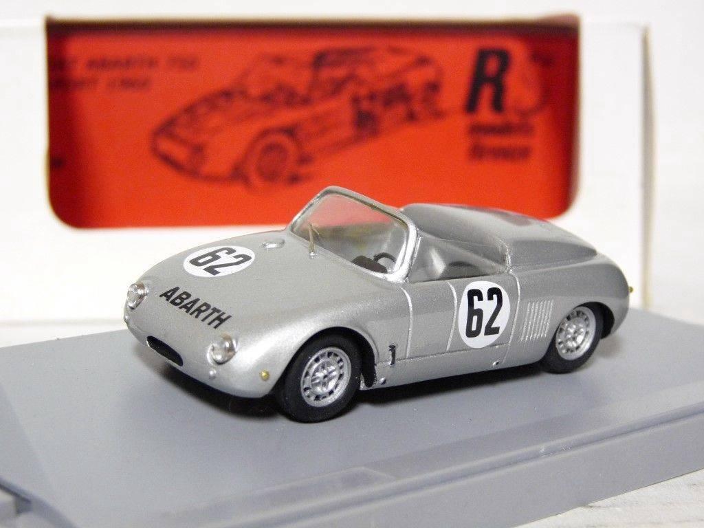 RS Models 08 1 43 1960 FIAT ABARTH 750 sport résine fait main modèle voiture