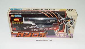 Pistolet Robo 1910 Browning Mc-07 Transformateurs de Microman à Changement Micro Pré G1 Takara