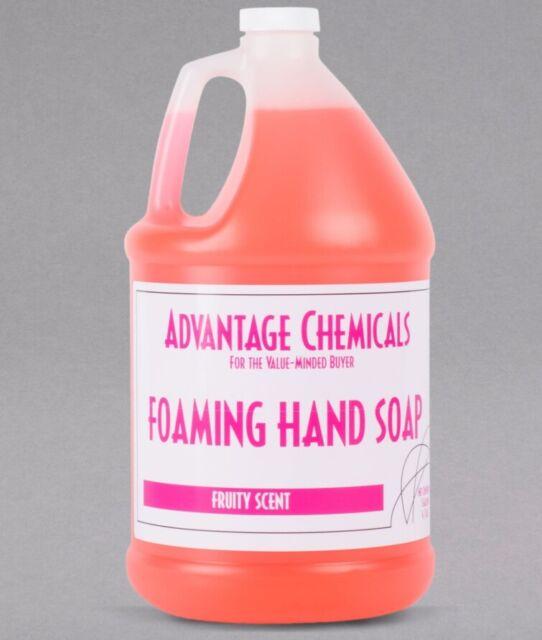 Advantage Chemicals 1 Gallon Foaming Hand Soap - 4/Case (for foam dispenser)