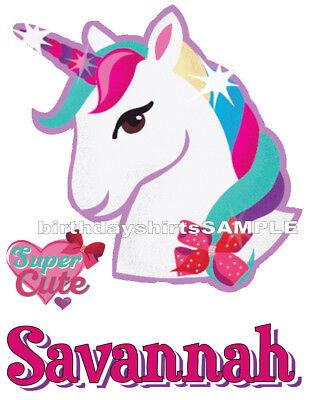NEW Custom Personalized JoJo Siwa t shirt Birthday party Add Name JoJo Bows