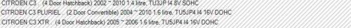 GOSS FUEL PUMP MODULE ASSEMBLY for CITROEN C3 GE454