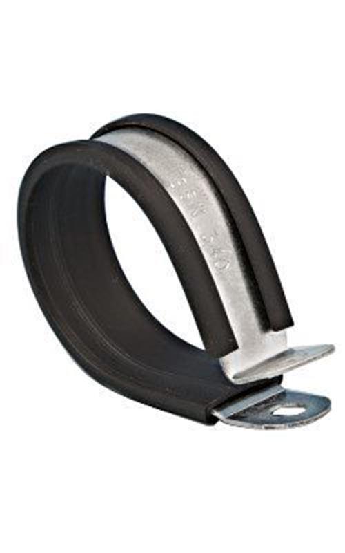 10mm Acier Inoxydable black P Clip