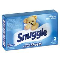 Snuggle Vend-design Fabric Softener Sheets, Blue Sparkle, 2 Sheets/box, 100 on Sale