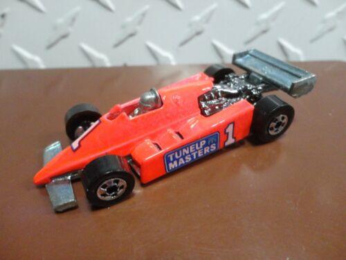 Loose Hot Wheels Pink Tune-Up Masters Racer w//Blackwall Wheels