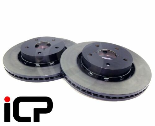 Subaru Impreza STi RA Spec C 114PCD 295MM Genuine Front Brake Discs Fits