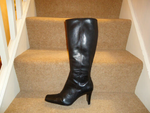 Boots 7 Healed Size Ladies Beautiful Leather Brown YRwUUI