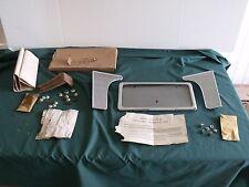 NOS 1957 Mercury Accessory License Plate Frame & Extensions FoMoCo 57