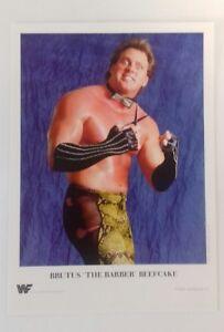 WWF-Wrestler-Brutus-Barber-Beefcake-7-034-X5-034-Reprint-Glossy-Publicity-Photo-Shot