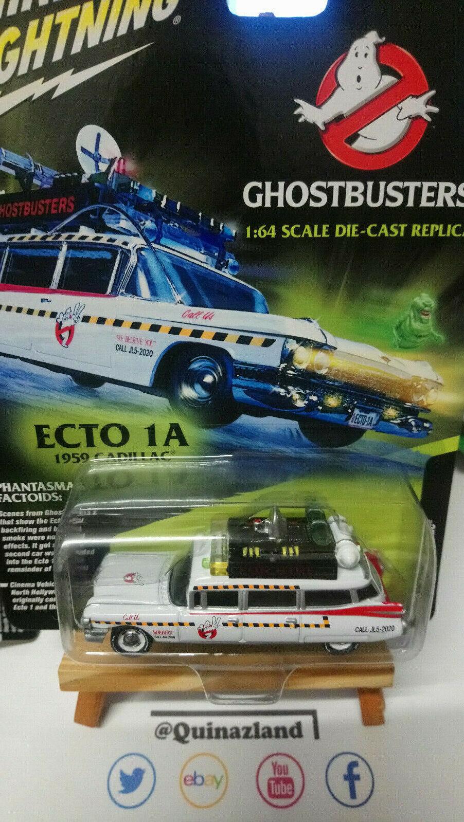 Johnny Lightning  Ghostbusters Ecto 1A 1959 Cadillac NG59