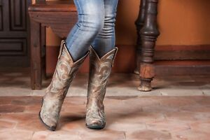 Cowgirl-Lane-Boots-Brown-Lovesick-LB0040D
