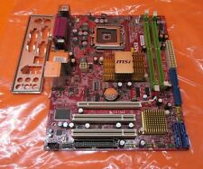 MSI MS-7592 Motherboard G41M4 w/ I/O Shield/ LGA775/ MicroATX/ 2 DDR2 *Tested*
