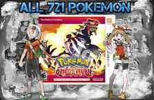 Legit Unlocked Pokemon Omega Ruby - All Megastones, All 721 Shiny, and More.