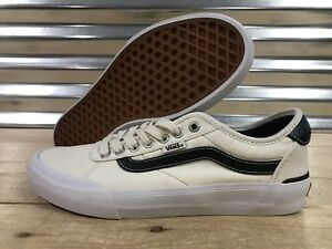 3a20937a7c2e28 Vans Chima Pro 2 Skateboard Shoes Marshmallow Black Ferguson SZ 9 ...
