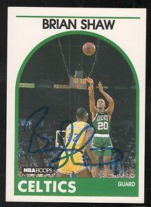 1990-91-NBA-HOOPS-62-BRIAN-SHAW-BOSTON-CELTICS-SIGNED-BASKETBALL-CARD-AUTO