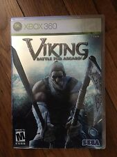 Viking: Battle for Asgard (Microsoft Xbox 360, 2008) No manual