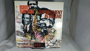 Bobby Watson Appointment IN Milano Red Italy Press VPA 184 LP VG++ cVG+