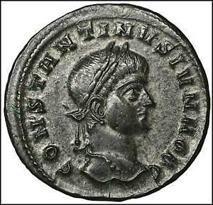 Charitable Constantine Ii Follis Römische Münzen Antike Rom Ancient Roman Coin High Grade Münzen