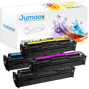 Lot-de-4-Toners-type-CB54-Jumao-pour-HP-Color-LaserJet-CP1215-CP1518ni-CP1515n