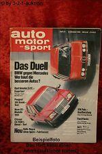 AMS Auto Motor Sport 21/80 * BMW 735i DB 500 SE Citroen CX 2500