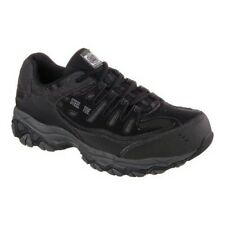 Skechers Men's   Work Relaxed Fit Crankton Steel Toe Shoe