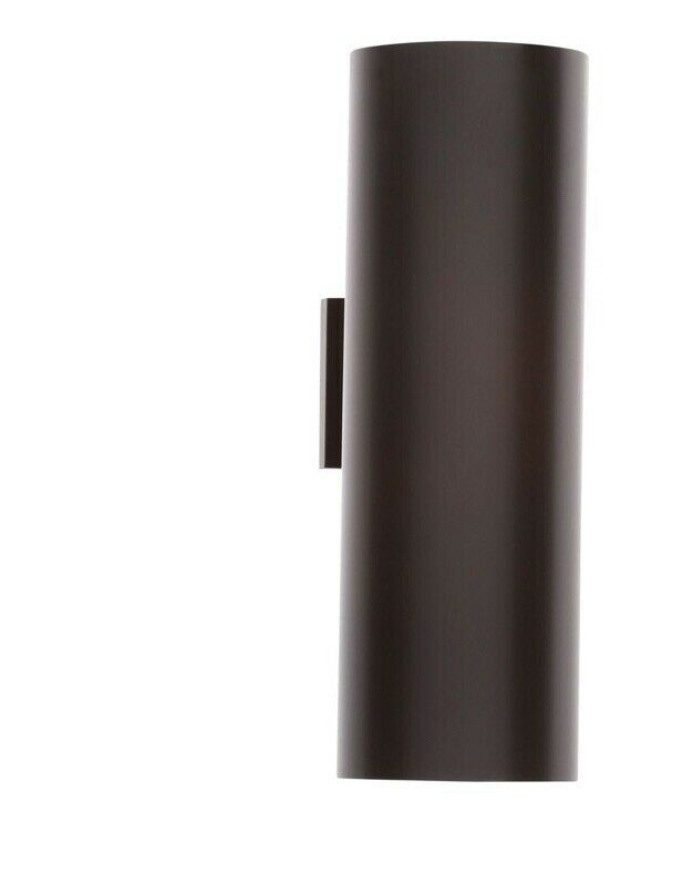 Progress Lighting P5642-20 LED Cylinder Outdoor Wall Sconce - Up   Down Ligh