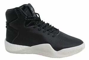 low priced ac2d2 2fc55 Image is loading Adidas-Tubular-Instinct-Boost-Lace-Up-Hi-Black-