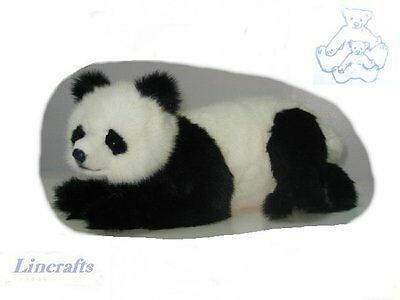 Lying Panda Plush Soft Toy by Hansa Sold by Lincrafts 4182 CLEARANCE SALE