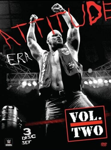 1 of 1 - WWE - The Attitude Era : Vol 2 (DVD, 2014, 3-Disc Set) - Region 4