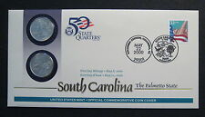 2000 South Carolina  First Day Coin Cover  Q17 * No Reserve * - (M522)
