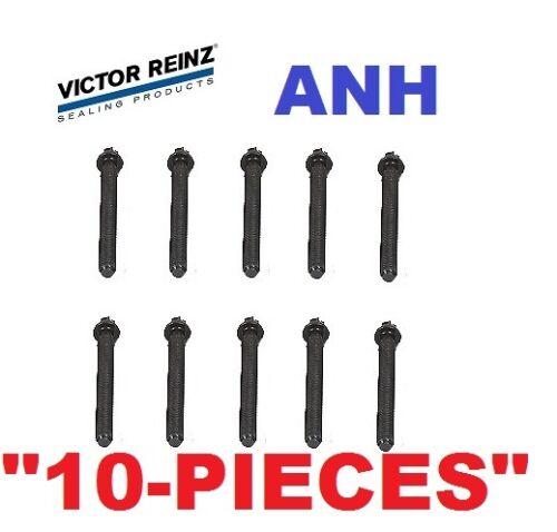 10-Pieces OEM Reinz Head Bolt E30 E36 318i 318is 318ti Z3